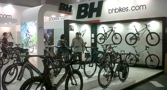 BH arrives at Eurobike with two Olympic gold medals and an amazing and ambitious collection for 2013