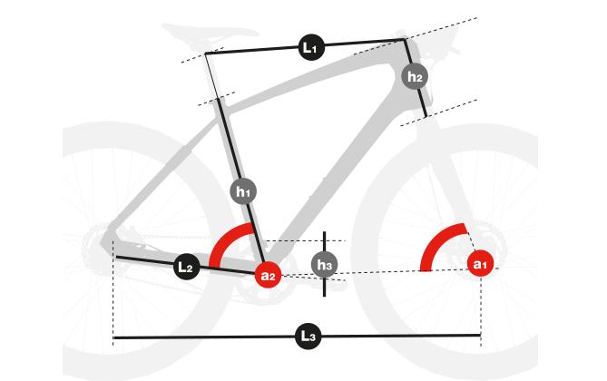 Telaio Sport per Trekking Bike, Cross Bike, Fitness, Wellness, Bicicletta da città ed escursioni, Bici per sterrati, Bicicletta per strade bianche