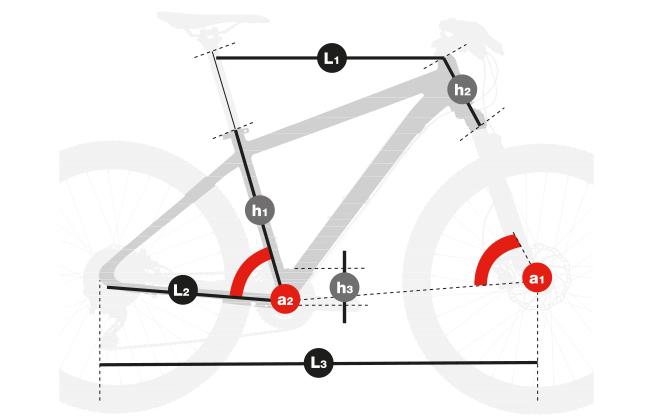 """Telaio Spike per MTB 29"""", MTB Front Suspended, MTB Hardtail, Bicicletta da montagna a forcella ammortizzata"""