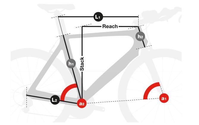 Telaio Aerolight per Triathlon Bike, Road Bike, Road Race, Bicicletta da corsa stradale